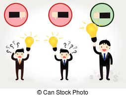 Get Idea   Businessman Can Get Good Idea To Do Something