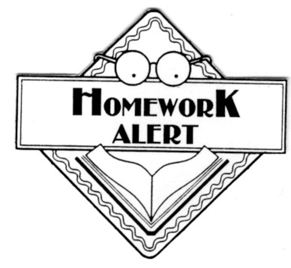 Clip art homework