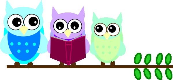 Owl Family Reading Clip Art At Clker Com   Vector Clip Art Online