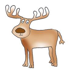 Rudolph Reindeer Clip Art Car Tuning
