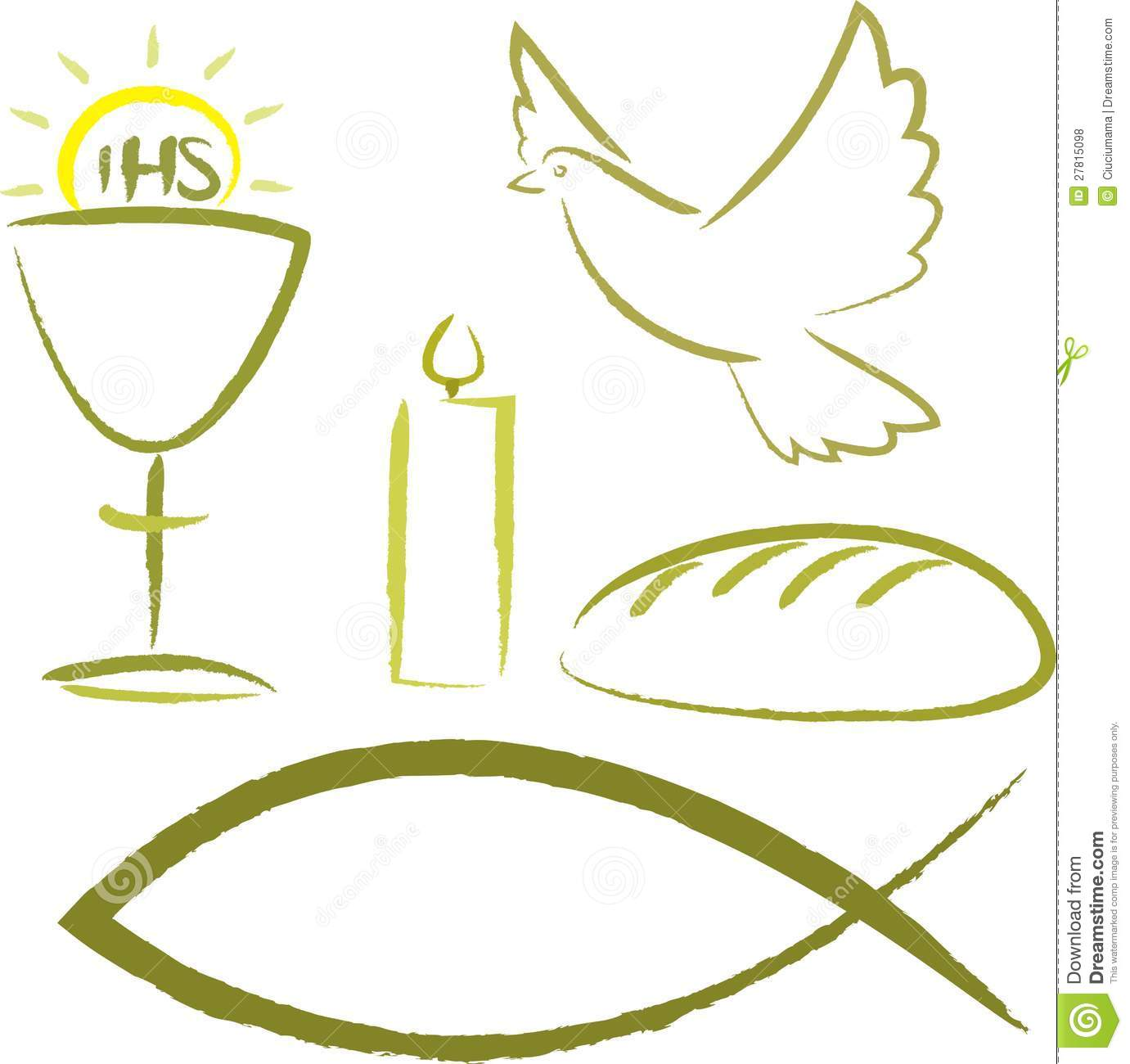 Symbols Clip Art Cachedlast Supper Catholic Religious Symbols