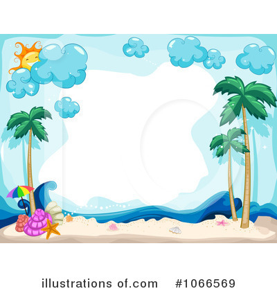 Tropical Vacation Beach Clip Art And Borders Pictures