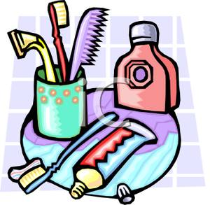Personal Hygiene Items Clipart - Clipart Kid