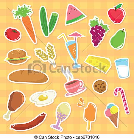 Protein Foods Clipart Vector And Illustration  1342 Protein Foods