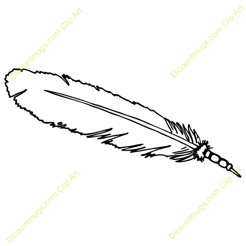 Eagle Feather Drawing Clipart - Clipart Kid