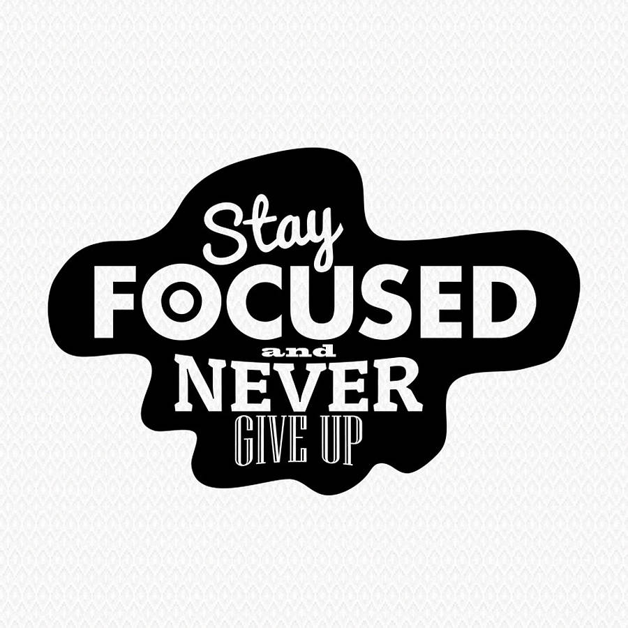 Stay Focused Clipart - Clipart Suggest