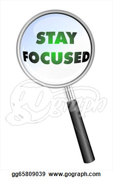 Stock Illustration   Stay Focused Icon  Clipart Gg65809039   Gograph