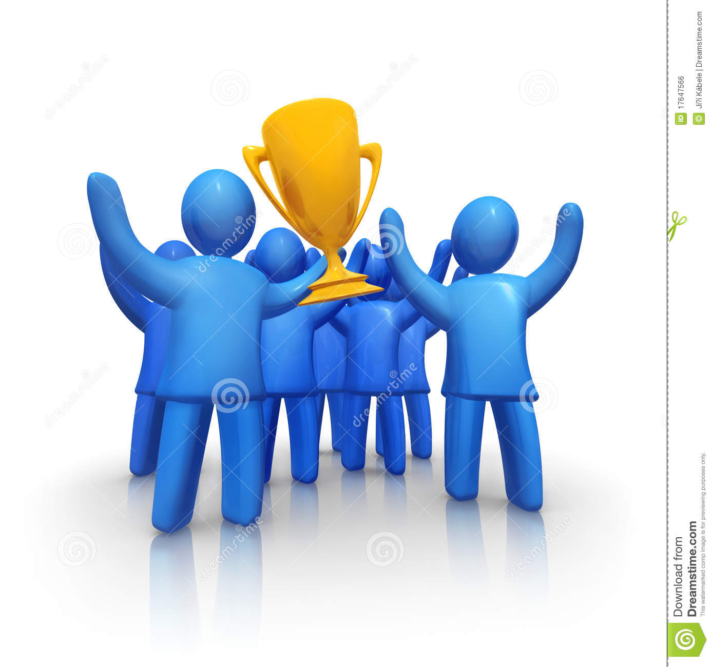 Winning Team Royalty Free Stock Image   Image  17647566