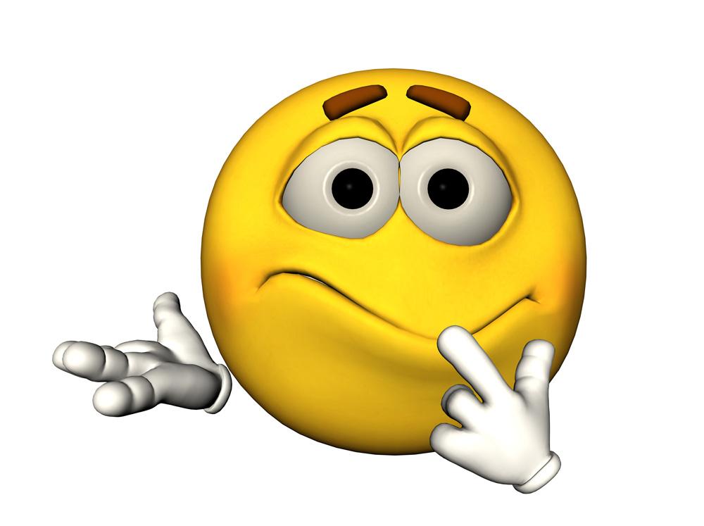 Confused Emoji Clipart...