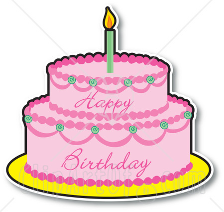 Birthday Cake Animated Clipart - Clipart Kid