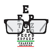 Eye Exam Clipart Vector Graphics  226 Eye Exam Eps Clip Art Vector And