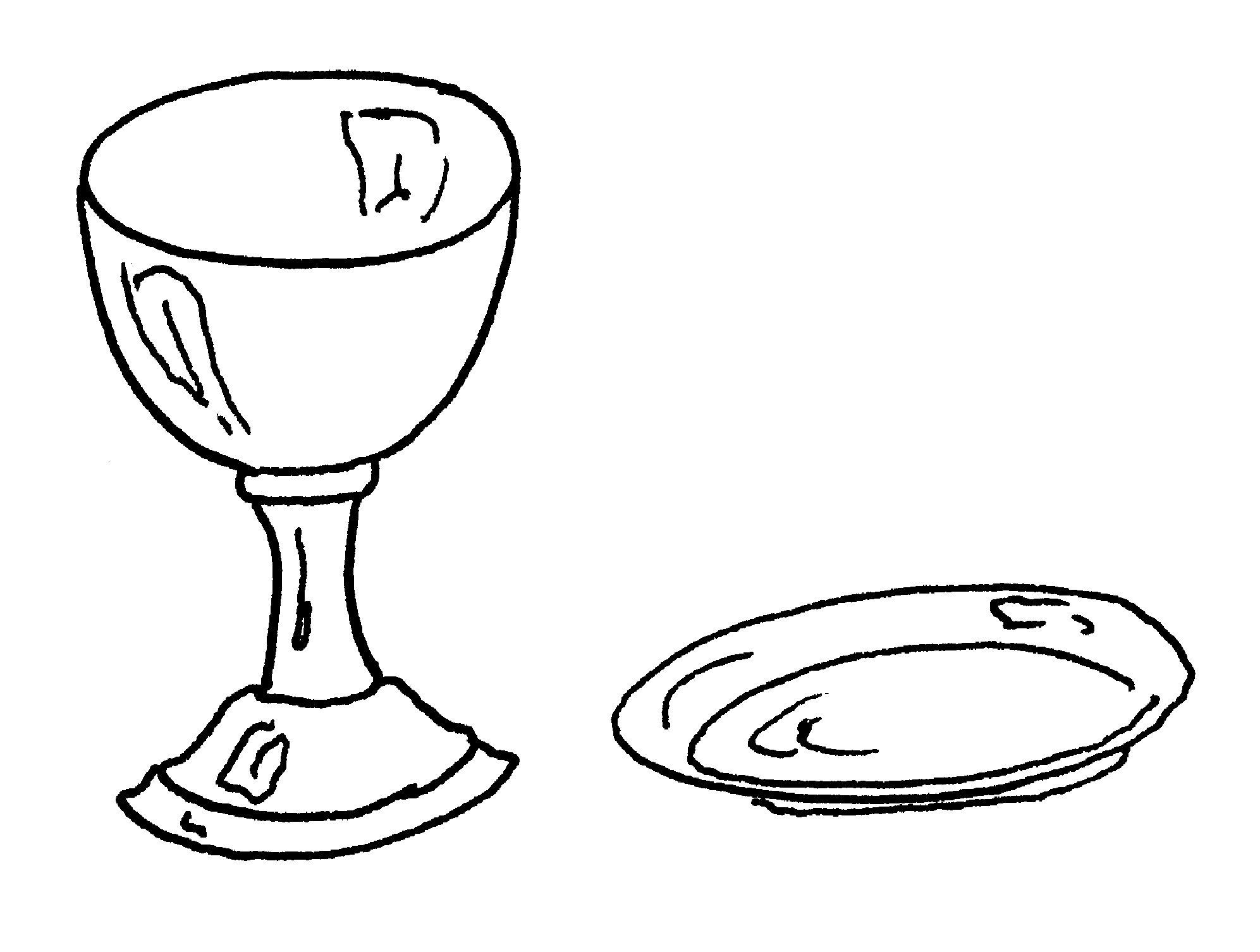 Communion Chalice Clipart Clipart Suggest