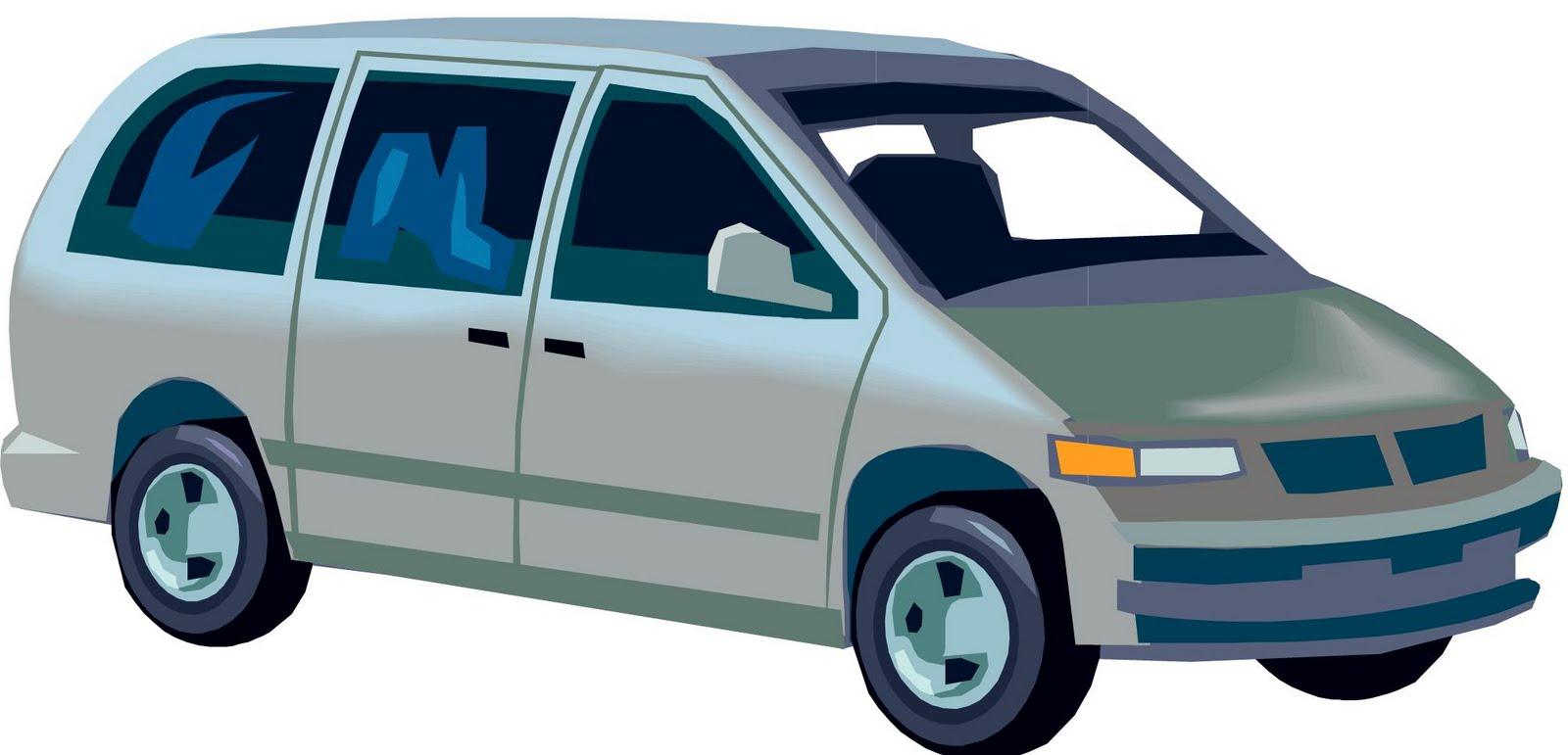 Van Clipart Cartoon Minivan...
