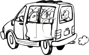 Minivan Drawing   Clipart Panda   Free Clipart Images