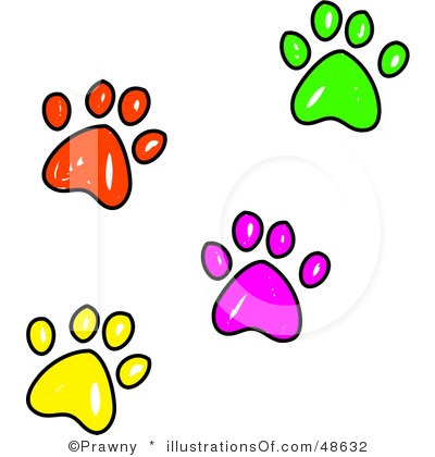 Paw Border Clipart - Clipart Kid
