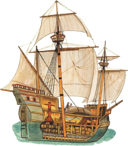 Sailing Ship  Explorer Clip Art   Scholastic Printables