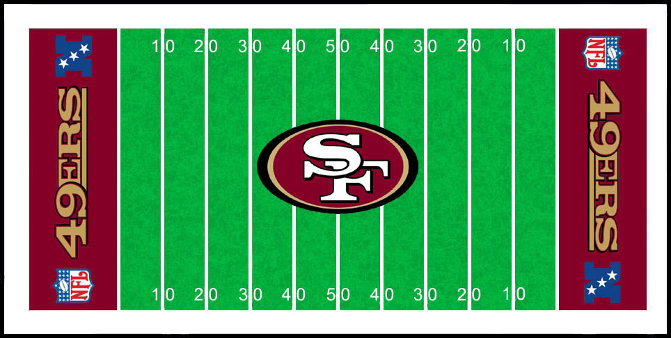 San Francisco 49ers Field Clipart   Free Clipart