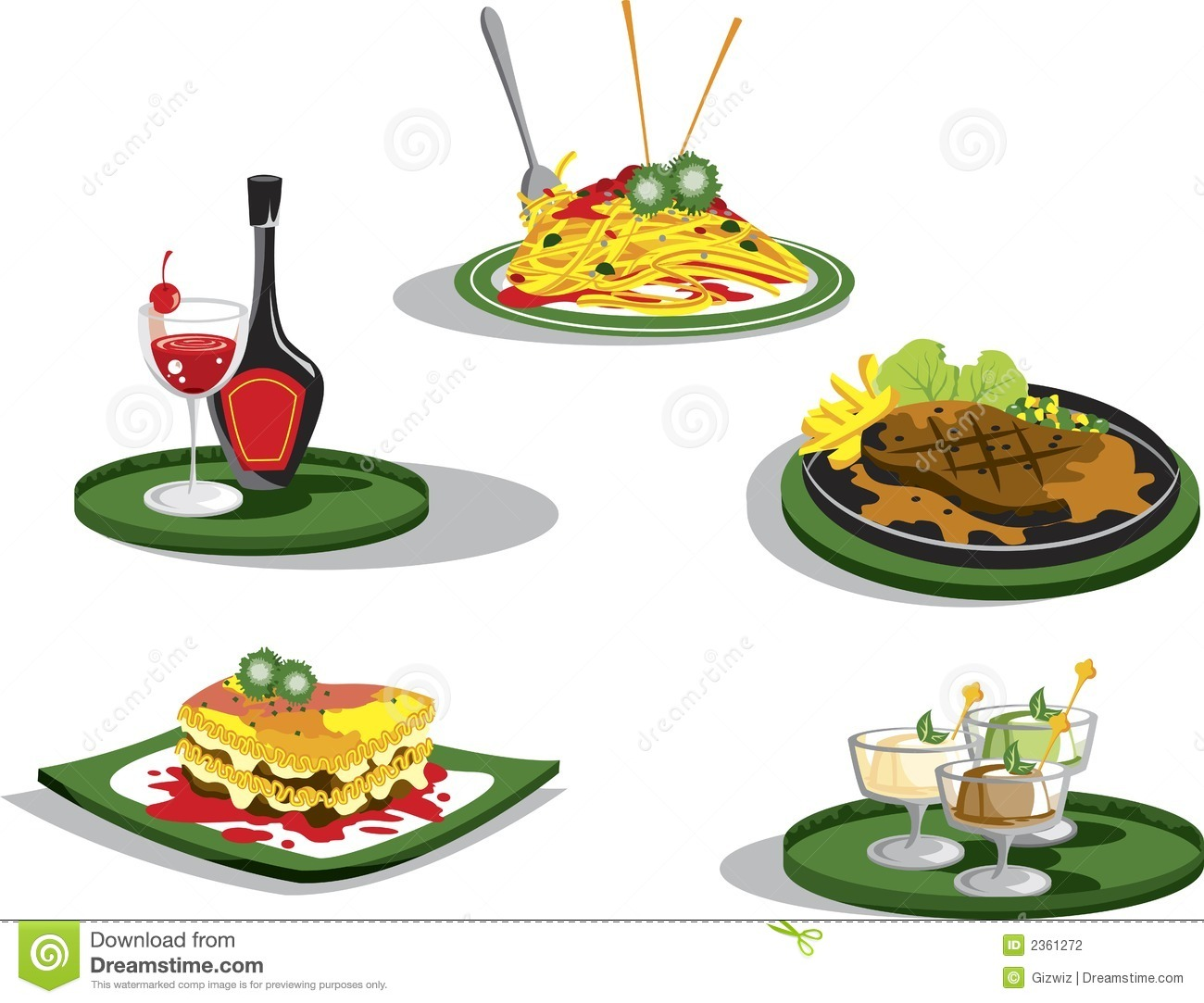 Clip Art Italian Food Clipart italian food clipart kid set of illustrations on food