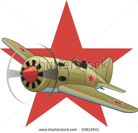 Bomber Planes Ww2 Clipart Soviet Ww2 Airplane On The Red