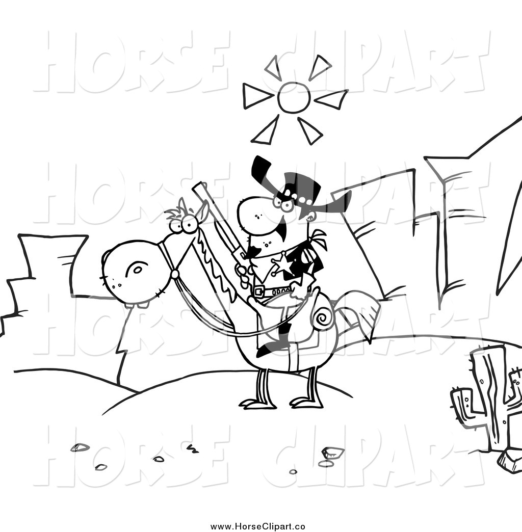 Clipart Desert Black And White Clip Art Of A Black And White