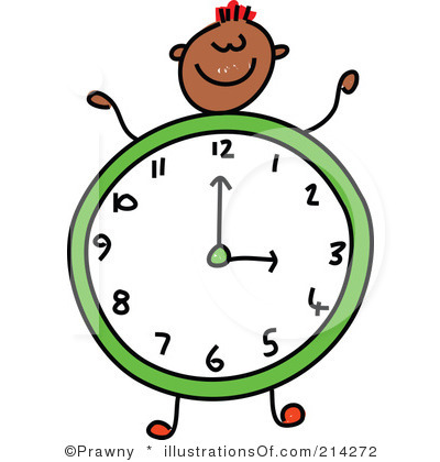 Colorful Clock Clipart   Clipart Panda   Free Clipart Images