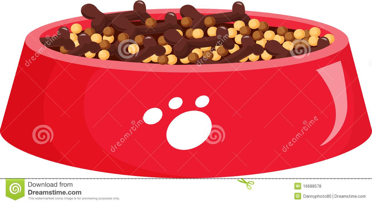 clipart dog bowl - photo #29