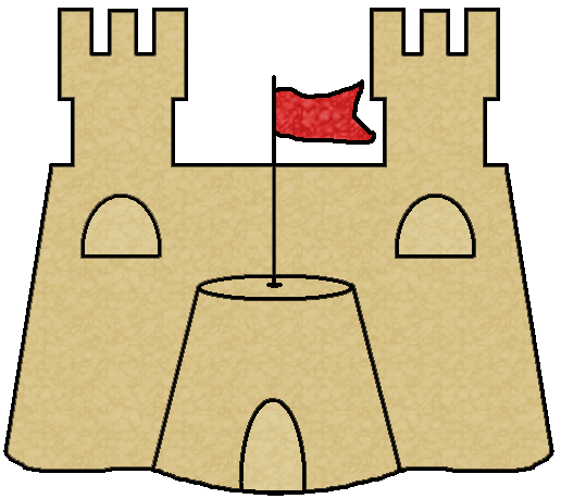 Clip Art Sandcastle Clipart sandcastle clipart kid download the png files here