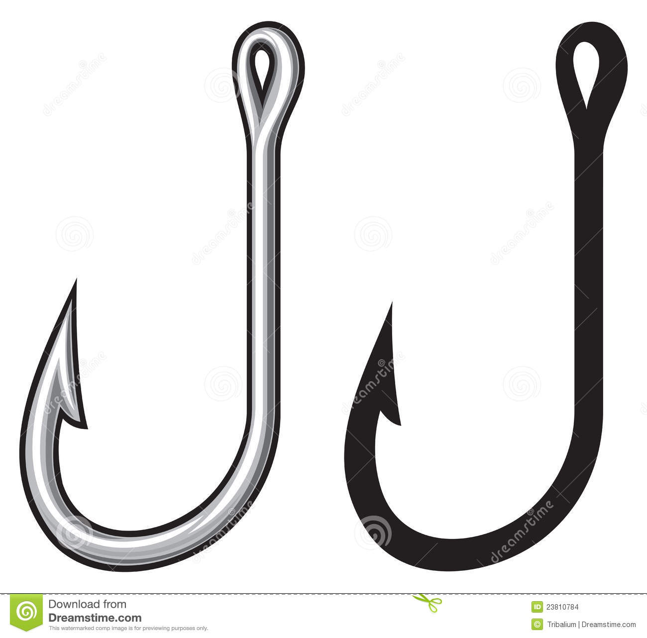 Fish hook outline clipart clipart suggest for Fish and hooks