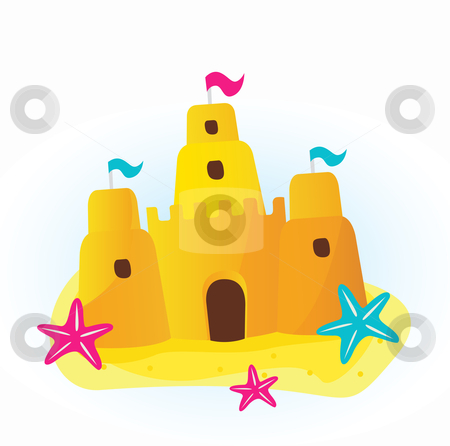 Free Sandcastle Clipart
