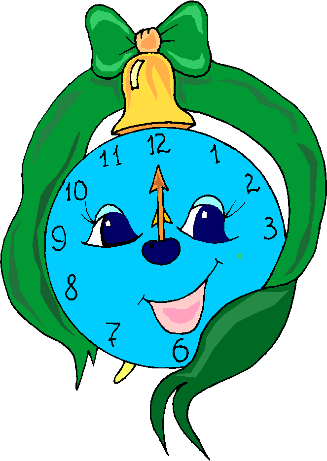 Funny Clock Free Clipart   Free Microsoft Clipart