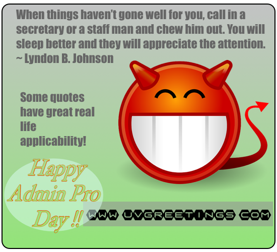 Thank You Quotes For Administrative Professionals Day: Funny Administrative Professionals Day Clipart