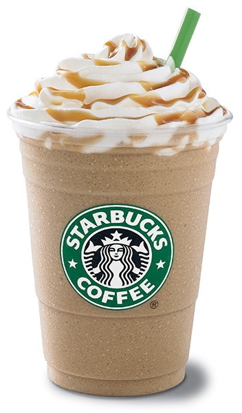 Grande Double Blended Extra Coffee Caramel Frappuccinohuh Rich Caramel