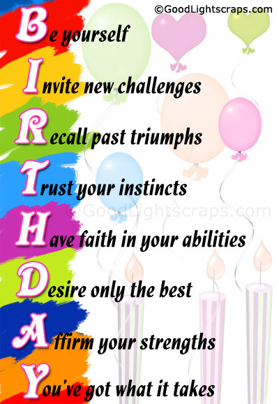 Happy Birthday Wishes Graphics Birthday Scraps   Images For Orkut