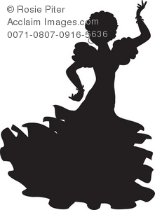 Pictures Spanish Dancer Clipart   Spanish Dancer Stock Photography