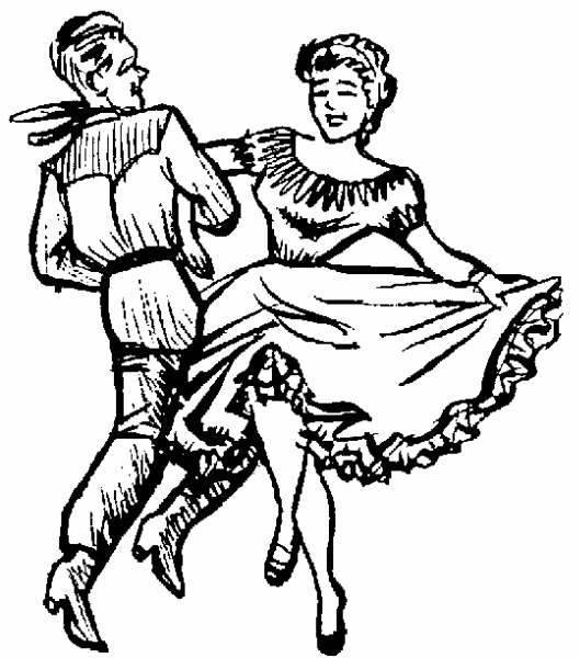 Square Dance Clip Art Pg 7