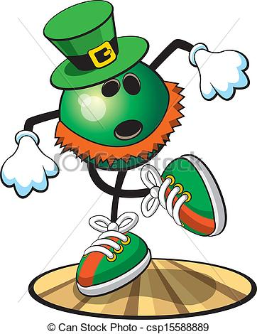 St Pat   A Vector Illustration Of A    Csp15588889   Search Clip Art