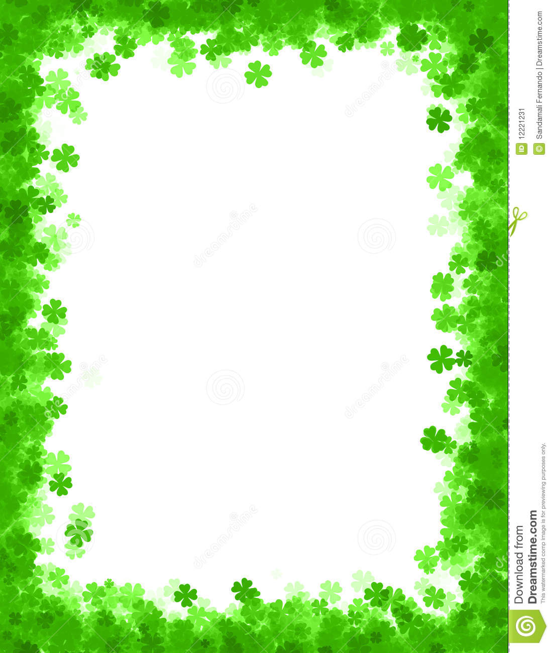 St. Patrick's Day Borders Clipart - Clipart Suggest