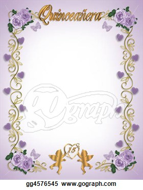 Stock Illustration   15th Birthday Quinceanera  Fotosearch   Search