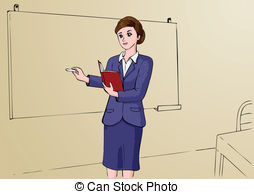 Teacher   Illustration Of Woman As A Professional Teacher