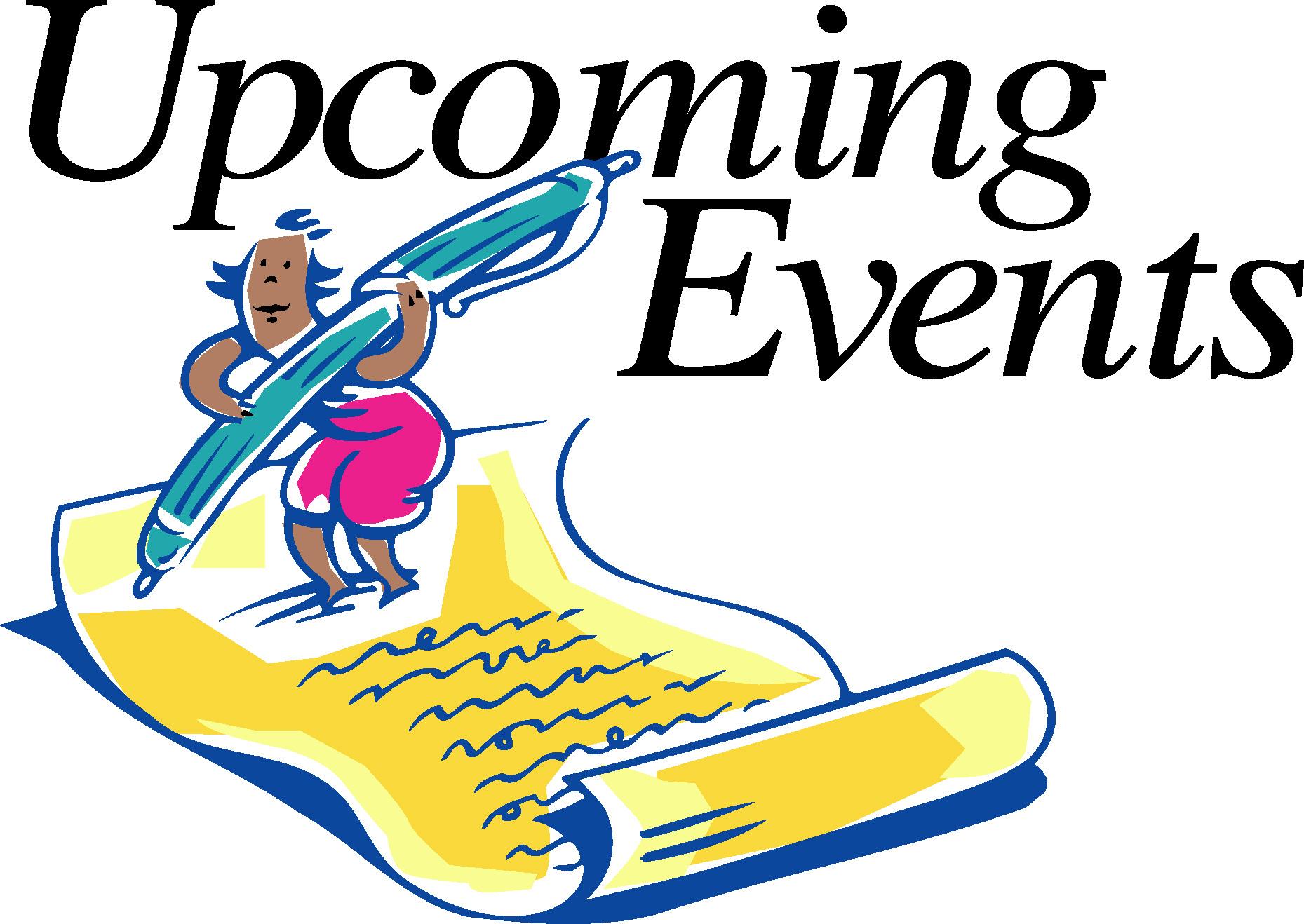 Calendar Upcoming Events Clipart - Clipart Kid