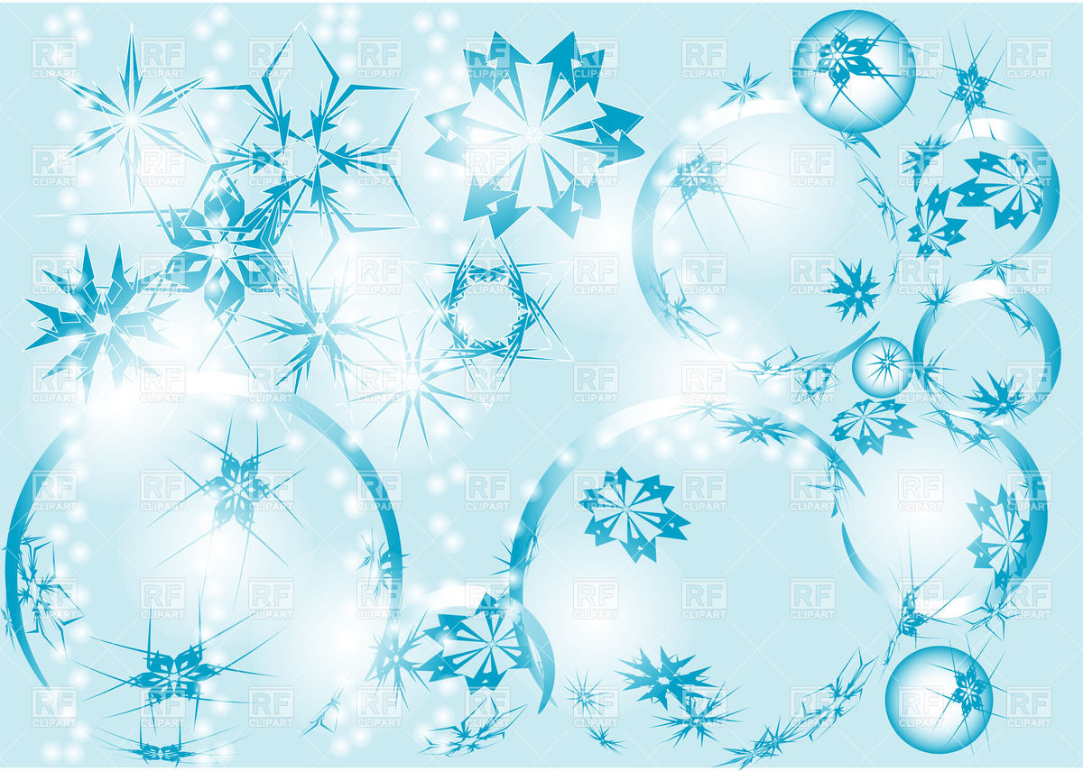 Winter Abstract Background Download Royalty Free Vector Clipart  Eps