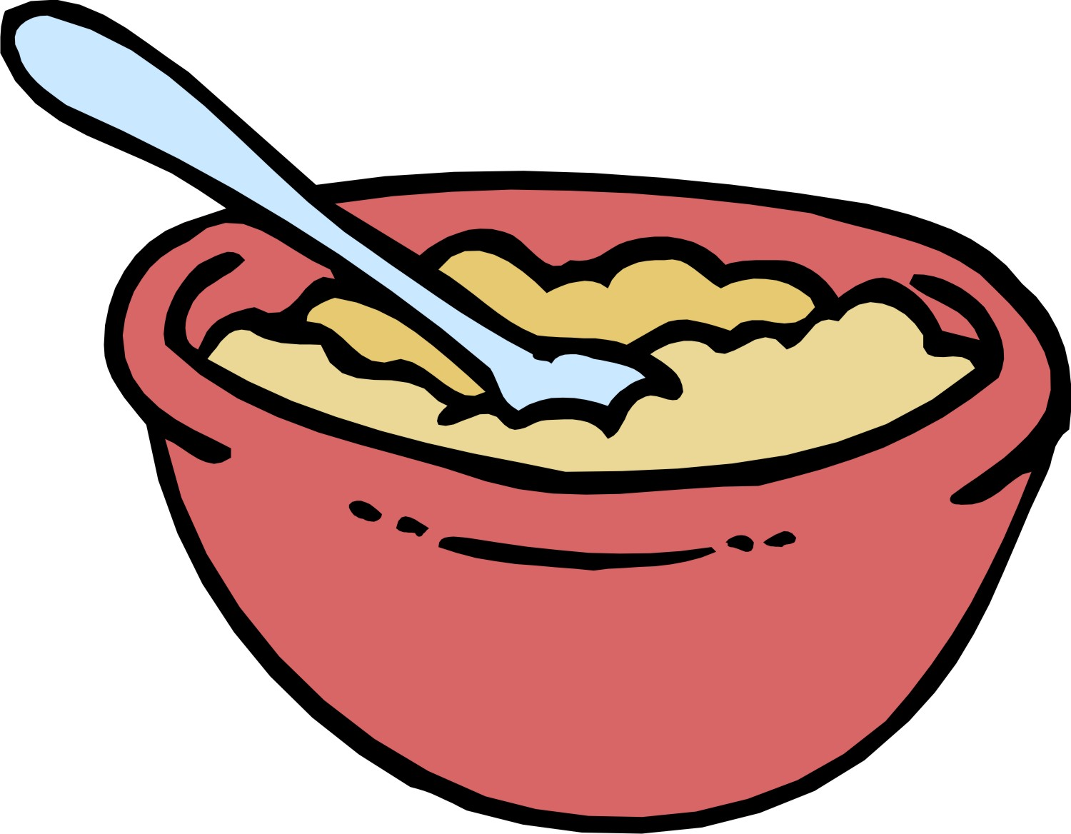 62 Images Of Bowl Of Cereal Clipart   You Can Use These Free Cliparts