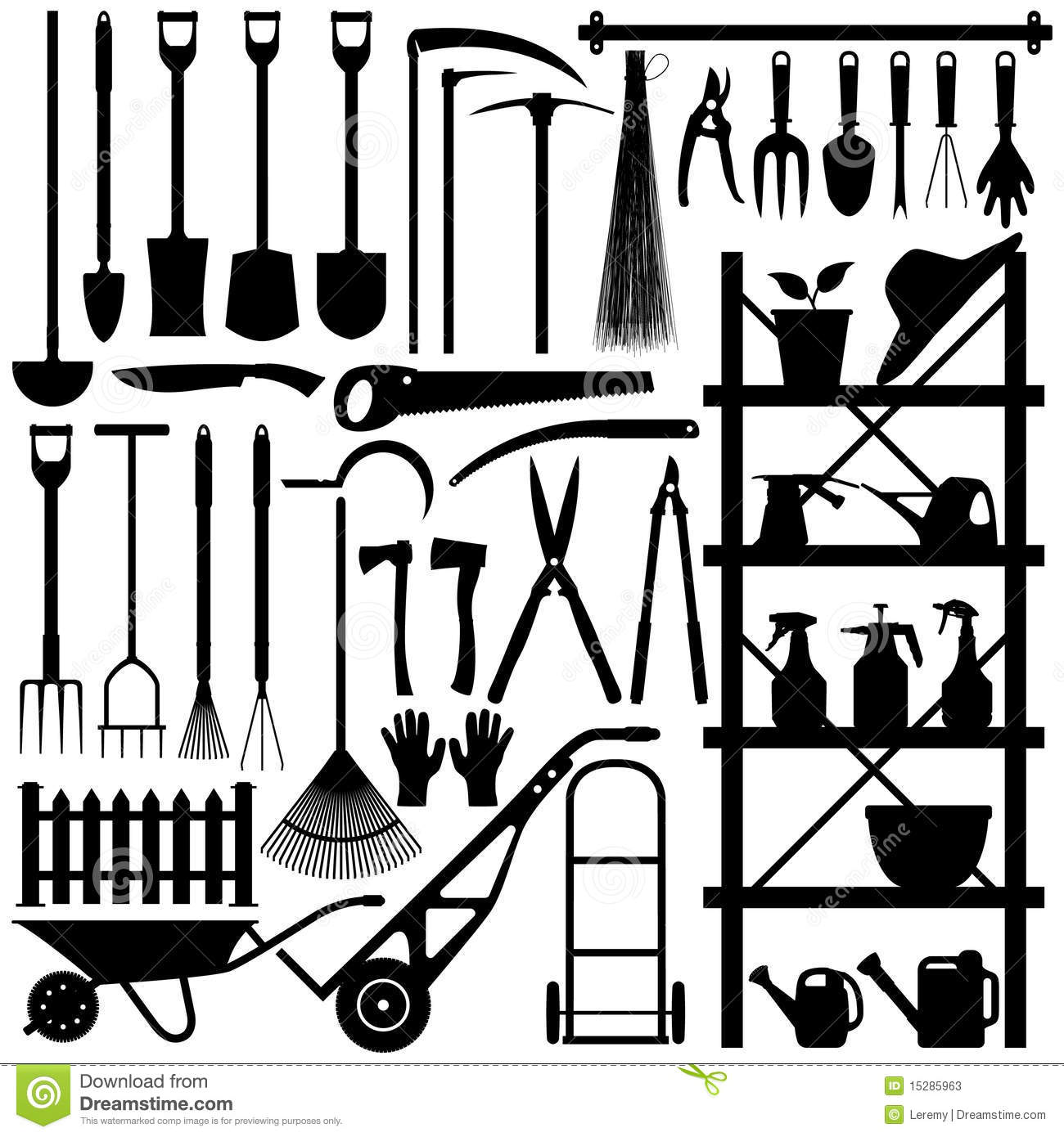 Back   Gallery For   Landscaping Tools Clipart