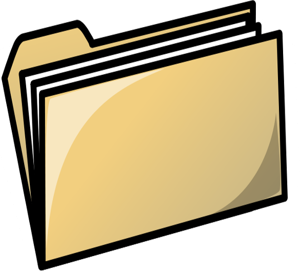 File Folder Clipart - Clipart Kid