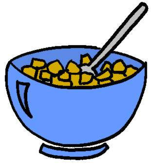 Clip Art Cereal Bowl