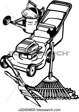 Landscaping Tools Clipart Clipart   Gardner Business