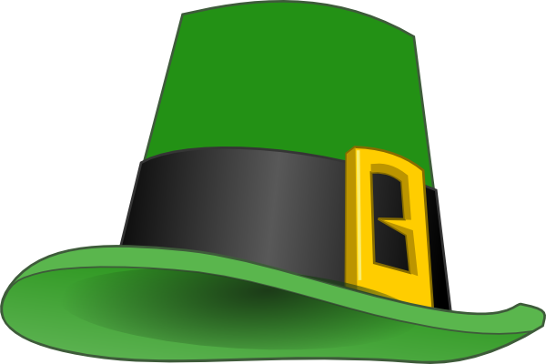 Leprechaun Hat Clipart - Clipart Kid