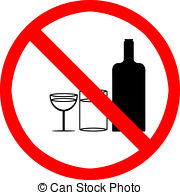 No Drinking Clipart