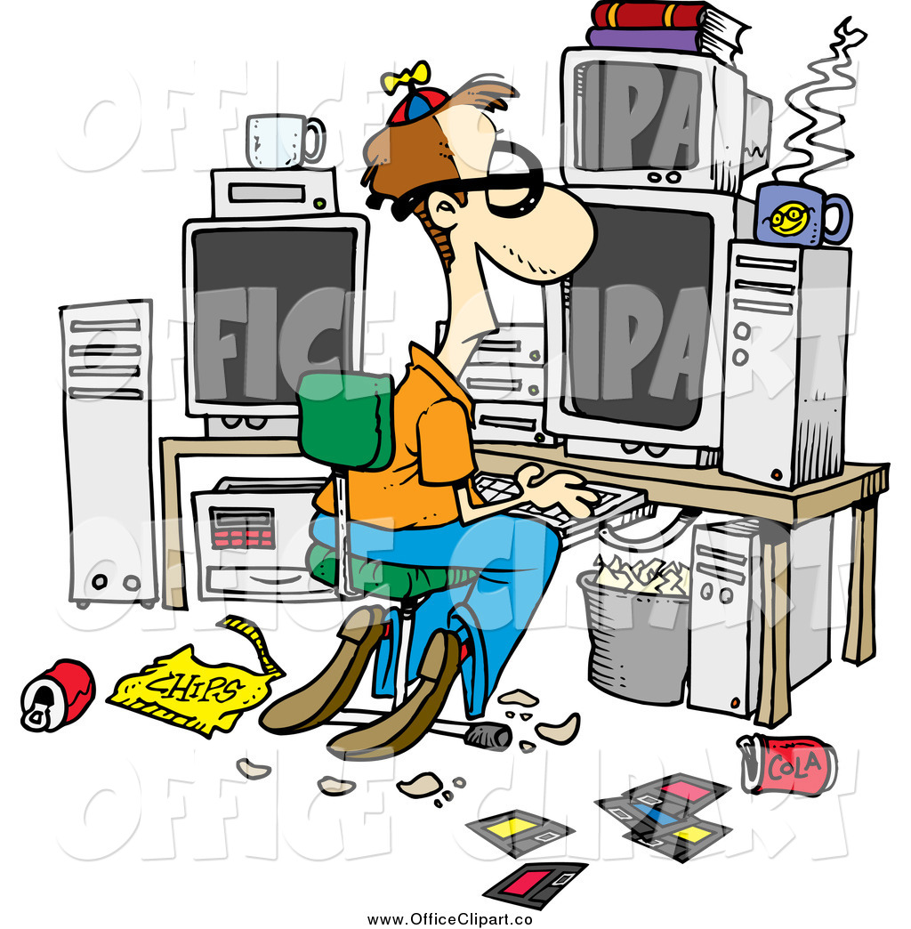 Messy office clip art cliparts for Office clipart