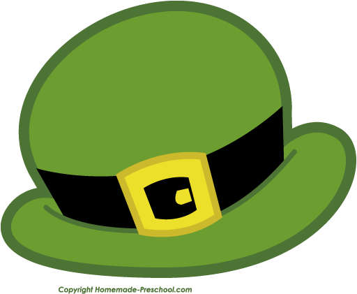 Leprechaun Hat Clipart - Clipart Suggest